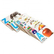 Aimedu Toy Wooden Flash Card English Alphabet