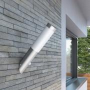 vidaXL Nástěnné zahradní svítidlo - vodotěsné s pohybovým čidlem
