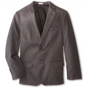 Calvin Klein Kids Luster Cord Jacket (Big Kids) Dark Grey