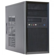 Chieftec CT-01B-OP Case M-ATX Mini, Nero