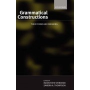 Grammatical Constructions by Thompson Shibatani