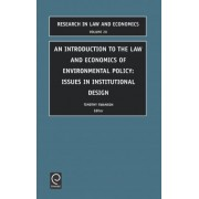 Introduction to the Law and Economics of Environmental Policy by R.O. Zerbe
