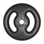 Anilha de Ferro Fundido Pintada - 10 Kg