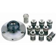 Proxxon 24419 - Set mandrine de precizie pentru diametre mici