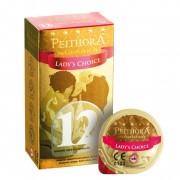 Peithora Lady's Choice rücskös óvszer (12 db)