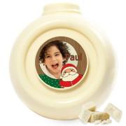 Chocolade Kerstbal - Wit