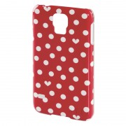 Carcasa Hearts & Dots Samsung Galaxy S5 Elle, Rosu