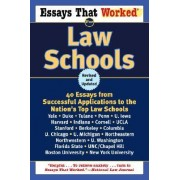 Essays That Worked for Law Schools by Boykin Curry