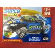Super Blox Blue Streak Racing - 68 pcs.