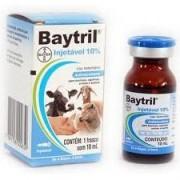 BAYTRIL INJETÁVEL 10% - 10ml