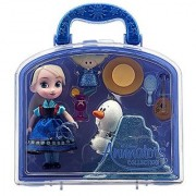 Disney Frozen Animators Collection Elsa Mini Doll Playset - Kids