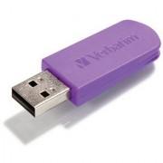 Verbatim 32GB Store n Go Mini USB 2.0 Flash Drive Violet 49833