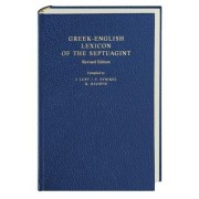Greek-English Lexicon of the Septuagint by Johan Lust