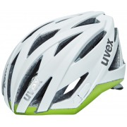 UVEX ultrasonic race Helm Damen white mat-green 55-58 cm Rennradhelme