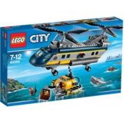 LEGO City Elicopter pentru expeditii marine 60093