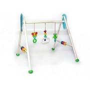 Hess 13372 - Bambino Giocattolo in Legno, Attività Baby Gym, Rana Toni