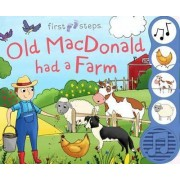 First Steps Old Macdonald - Sound Book by Kimberley Barnes