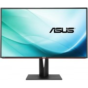 "Monitor IPS LED Asus 32"" PA328Q, 4K UHD, HDMI-MHL, 6 ms GTG, DisplayPort 1.2, Boxe, Flicker free, Low Blue Light, TUV certified (Negru) + Bitdefender Antivirus Plus 2017, 1 PC, 1 an, Licenta noua, Scratch Card"