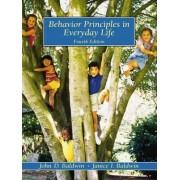Behaviour Principles in Everyday Life by John David Baldwin