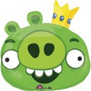 Balon folie figurina King Pig Angry Birds - 56x58cm, Amscan 24811