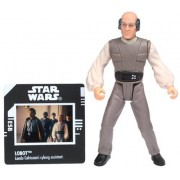 Star Wars, The Power of the Force Green Card, Lobot Action Figure with Freeze Frame Slide, 3.75 Inches by Hasbro