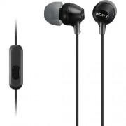 Fone de Ouvido Sony Intra-Auricular com Microfone MDREX15AP - Preto
