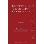 Drafting and Negotiating IT Contracts by Paul Klinger