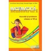 Matematica cls 6 sem 1 2012-2013 Exercitii si probleme - Marius Girgiu Cornel Moroti Ion Ghica