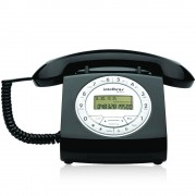 Telefone Estilo Retrô com Fio e Identificador de Chamadas Intelbras