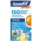 Taxofit Iso Energy Drink - Nutrition sportive - agrumes bleu/blanc Boissons minérales