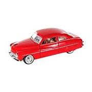 "Motormax GOTZMM73225RD 1:24 Scale Metallic Red ""1949 Mercury Coupe"" Die Cast Model Car"