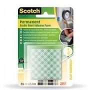 25.4 x 25.4 мм. Scotch 111 - Двойнозалепващи монтажни късчета / 1 /