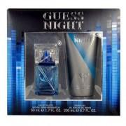 Guess Night M Zestaw perfum Edt 50ml + 200ml Żel pod prysznic