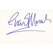 Esai Morales Autographed Index Card