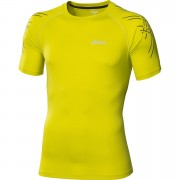 Asics Men's Tiger Running Top - Electric Lime - XL