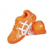 Unihoc U3 Speed Junior Unisex orange/white oranžová / bílá US 5 / UK 4 / EU 37 / 24,1 cm