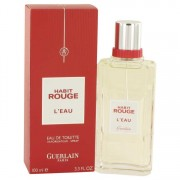 Guerlain Habit Rouge L'eau Eau De Toilette Spray 3.3 oz / 97.59 mL Men's Fragrance 526540