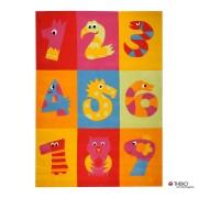 Tapijt Mallorca - tellen met dieren -160x230cm, Theko die markenteppiche