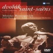 Mstislav Rostropovich - Dvorak / Saint - Saens Cello Concertos (0094635823196) (1 DVD)