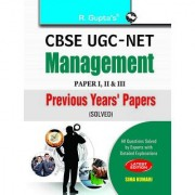 Cbse Ugc-Net Management Previous Years Papers (Paper I Ii Iii) Solved