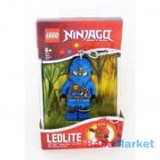 LEGO Ninjago világító kulcstartó - Jay