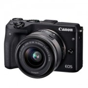 Цифров фотоапарат Canon EOS M3 black + EF-M 15-45mm IS STM black, AJ9694B142AA