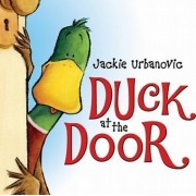 Duck at the Door by Jackie Urbanovic