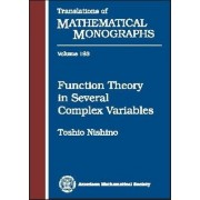 Function Theory in Several Complex Variables by Toshio Nishino