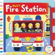 Busy Fire Station by Rebecca Finn
