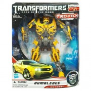 Hasbro Transformers Dark of the Moon Mechtech Clase Leader Bumblebee - Muñeco convertible con luz y sonido