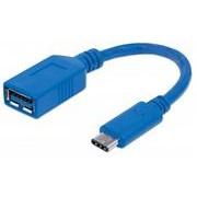 Manhattan USB 3.1 Gen1 Cable - Type-C Male