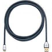 Számítógép kábel USB 2.0 0,50 m szürke (1166274)