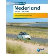 Wegenatlas - Atlas Nederland | ANWB Media