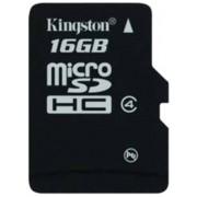 Kingston MicroSDHC 16GB Micro Class 4 Memory Card (SDC4/16GB)